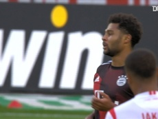 Serge Gnabry scored as Bayern won at Cologne in the Bundesliga. DUGOUT