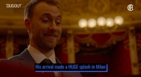 Christian Eriksen has adapted quickly to life at Inter. DUGOUT