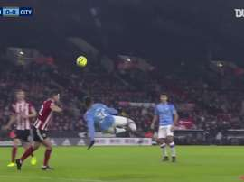 VIDEO: Agüero seals narrow win over Sheffield United at Bramall Lane
