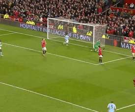 Sergio Aguero gave Man City victory at Old Trafford back in 2013. DUGOUT