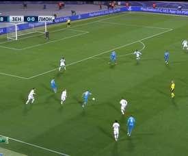 La victoire du Zenith contre Lyon en 2015. DUGOUT