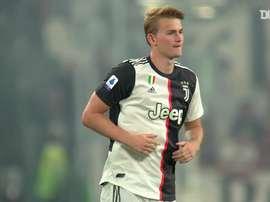Matthijs de Ligt has been at Juventus for nearly a season. DUGOUT