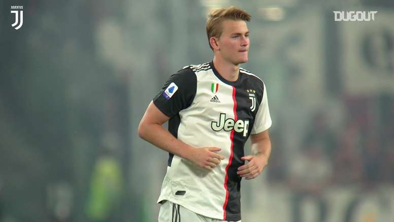 Matthijs de Ligt has been at Juventus for nearly a season. DUGOUT