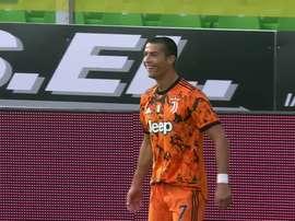 La doppietta di Ronaldo contro lo Spezia. Dugout