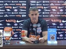 Vagner Mancini concedeu sua primeira entrevista pelo Corinthians. DUGOUT