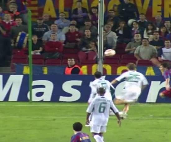 Les 33 équipes face auxquelles Messi a marqué en Ligue des Champions. DUGOUT