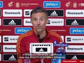 Luis Henrique parla di Morata. Dugout