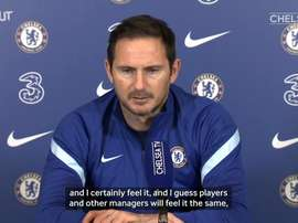 Lampard looking forward to seeing fans again. DUGOUT