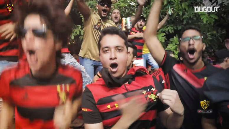 Il meglio dello Sport Recife. Dugout