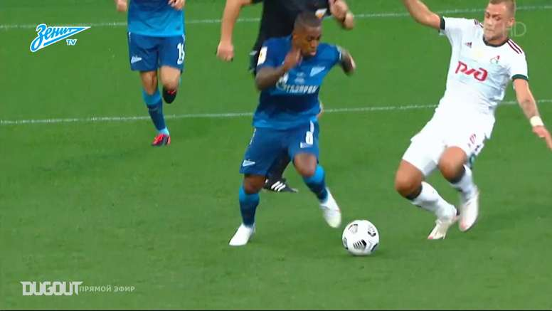 Malcom has had a very good August for Zenit. DUGOUT