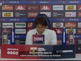 Conte classifica como fantasia especulação de Messi na Inter de Milão. DUGOUT