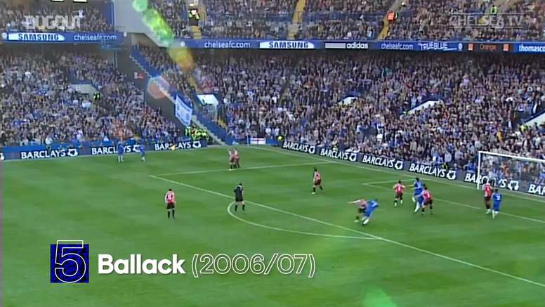 Chelsea have scored some great goals against Sheff Utd over the years. DUGOUT