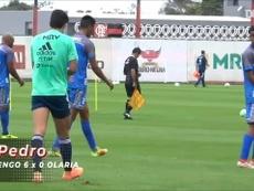 Flamengo fez 9 a 0 em amistoso contra o Olaria. DUGOUT