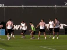 Valencia faz seu primeiro treino sob o comando de Voro. DUGOUT
