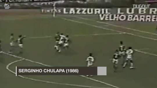 I migliori goal in rovesciata del Santos. Dugout