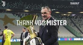 Grandes momentos de Maurizio Sarri como técnico da Juventus. DUGOUT