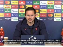 Lampard fala sobre Terry. DUGOUT