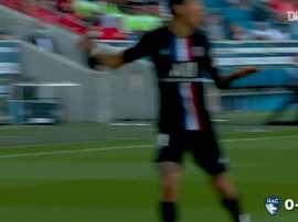 PSG beat Le Havre 9-0. DUGOUT