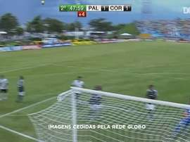 Ronaldo scored some great goals while at Corinthians between 2008 and 2011. DUGOUT