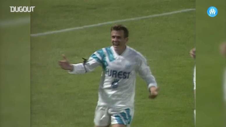 Franck Sauzée fue una de las estrellas francesas de los años 90. DUGOUT