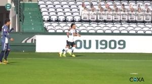 Coritiba are in the final. DUGOUT