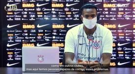 Jô diz que fez uma ótima escolha ao voltar para o Corinthians. DUGOUT