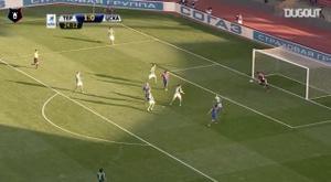 Keisuke Honda strikes against Terek Grozny. DUGOUT