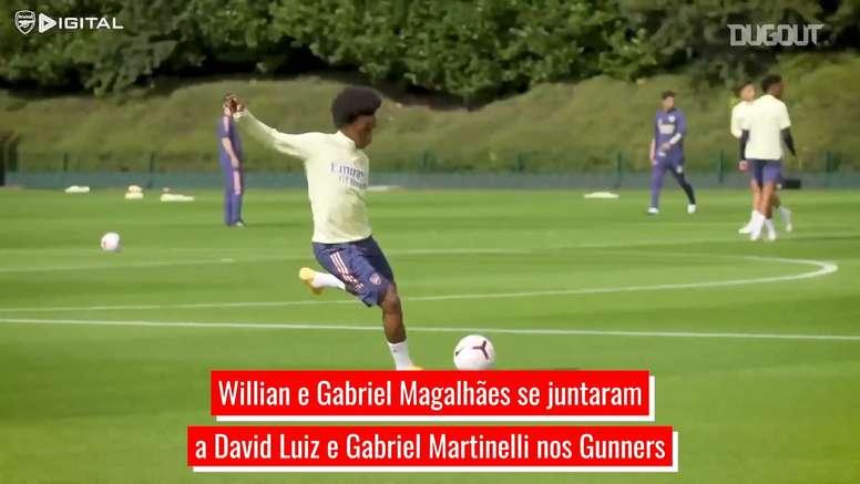 Arsenal agora tem quatro brasileiros na equipe. DUGOUT