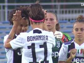 Os gols de Barbara Bonansea pela Juventus. DUGOUT
