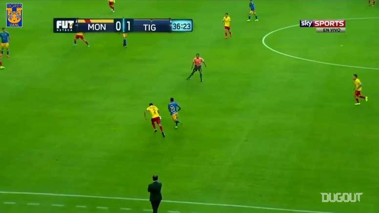 VIDEO: Javier Aquino's best goals for Tigres. DUGOUT