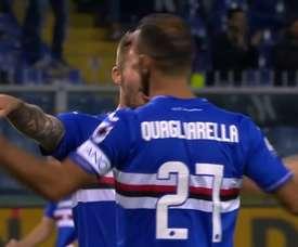 Sampdoria beat SPAL 2-1. DUGOUT