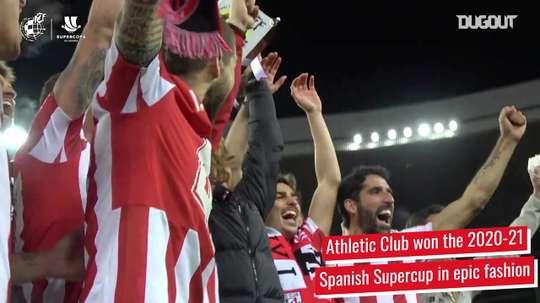 Athletic Club's epic 20/21 Spanish Supercup triumph. DUGOUT
