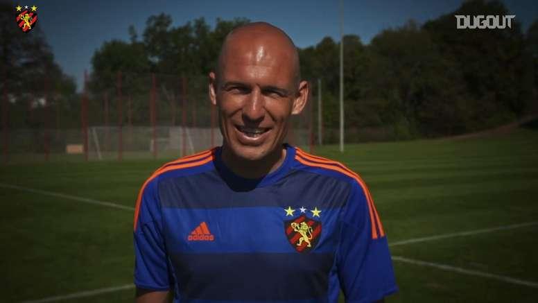 Robben já vestiu a camisa do Sport. DUGOUT