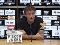Cuca fala sobre prejuízo que Santos teve após expulsão de Lucas Veríssimo. DUGOUT