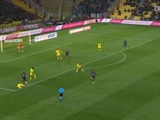 VIDÉO : le but de Martin Terrier contre Nantes. Dugout