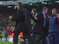 Momentos de Radomir Antic como técnico do Barcelona. DUGOUT