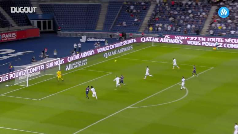 Thauvin gave Marseille victory at PSG. DUGOUT