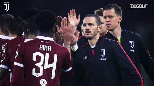 La Juventus si prepara alla sfida contro il Torino. Dugout