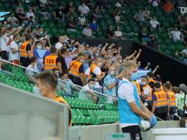 Zenit won the league. DUGOUT