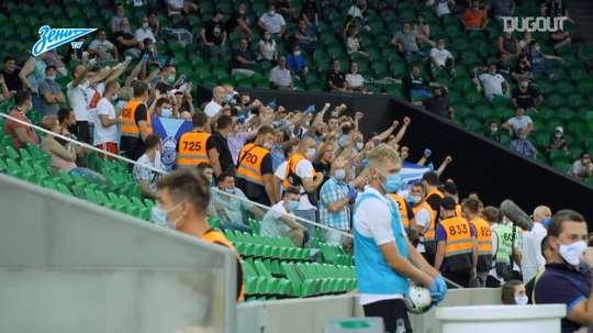 Zenit won the league. DUGOUT