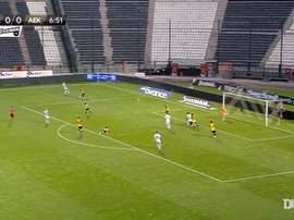 AEK Athens won 0-2 at PAOK. DUGOUT