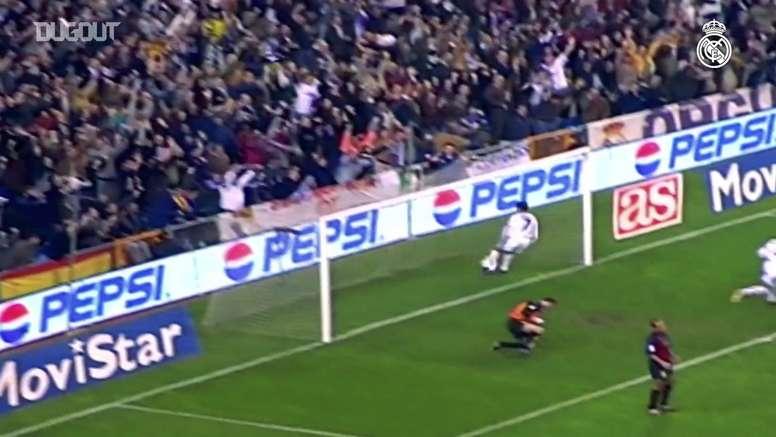 Le coup france surpuissant de Roberto Carlos dans le Clasico. DUGOUT