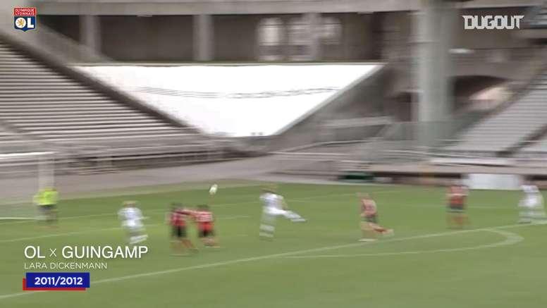Olympique Lyonnais Women best goals vs Guingamp. DUGOUT