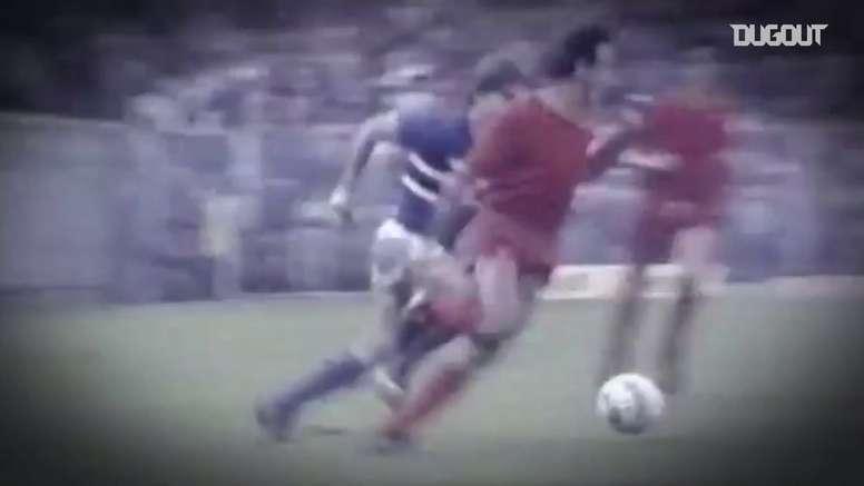 Les meilleurs buts de Mancini à la Sampdoria. DUGOUT