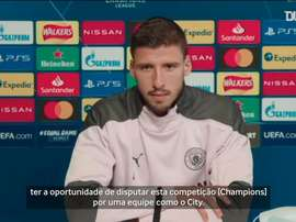 Rúben Dias enfrentará o Porto na estreia com o Manchester City na Liga dos Campeões. DUGOUT