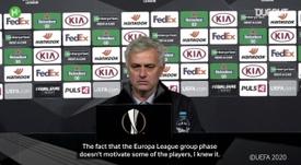 Jose was unimpressed. DUGOUT