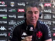 Vasco de Sá Pinto soma 23 pontos e ocupa a 16ª posição na tabela do Brasileirão. DUGOUT