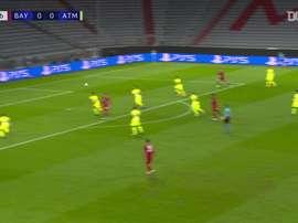 Résumé Bayern Munich 4-0 Atlético Madrid. Dugout