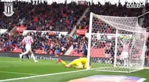 Stoke City's top five goals against Rotherham. DUGOUT