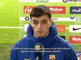 Barcelona were beaten 1-0 at Atletico Madrid in La Liga. DUGOUT